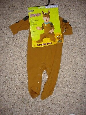 NEW Scoopy Doo infant Halloween Costume 6-12m months