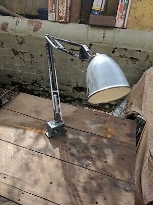 Anglepoise Herbert terry Industrial factory Machinist Lamp . original  classic