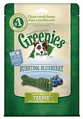 GREENIES Blueberry Treat-Pak-Teenie Dog 12 Oz, Pack of 4