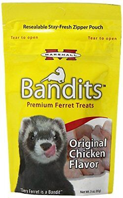Marshall Bandits Ferret Treat, 3-Ounce, Chicken