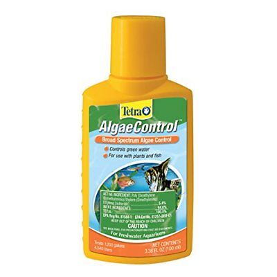 Tetra 77184 Algae Control for Freshwater Aquariums, 3.38-Ounce, 100-ml