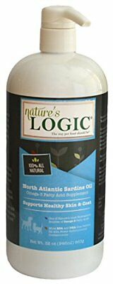 Nature's Logic Sardine Oil Supplement for Pets, 16 oz, 1 Pack
