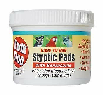 Gimborn Kwik Stop Styptic Pads 90 Count @
