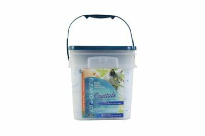 Clear Choice Silica Crystals Cat Litter Pail, 12-Pound