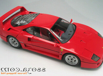 1:12 Kyosho Ferrari F40 Diecast Metal Car Model Red Rare