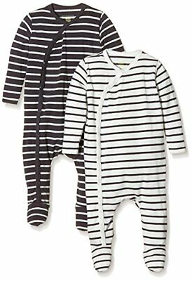 MINI MIZE by MAMLICIOUS - MMSTAR FOOTED NIGHTSUIT L/S-U-2 PACK 15, (C5E)
