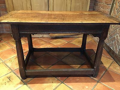 Antique Original Oak Refectory Table Late 17th/Early 18th Century