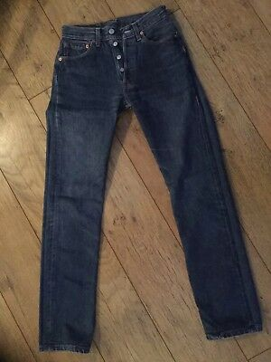 Vintage Levi 501 High Waisted Ladies Jeans. 27W 32L. Pre-owned