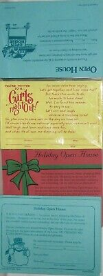 180 Open Hse, Girls Night Out!, Holiday Open Hse Consultant/Hostess Invitations