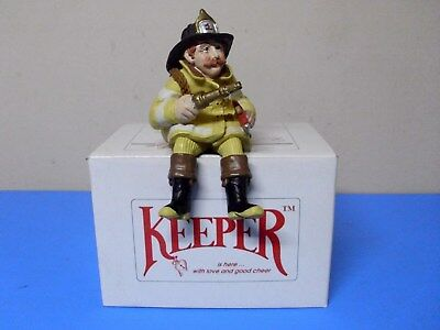 Shenandoah The Keeper Of Firefighters Figurine With Box