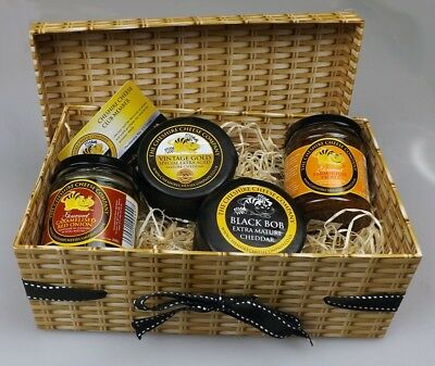 Tangy Extra Mature Cheddars & Chutneys Gift Box + Cheese Club membership