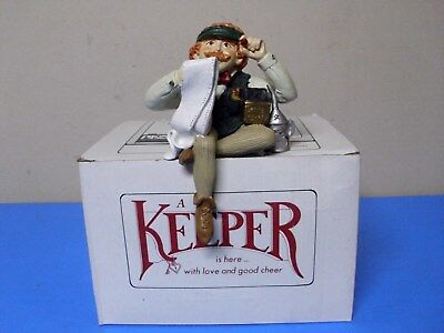 Shenandoah The Keeper Of The Home Office Figurine With Box