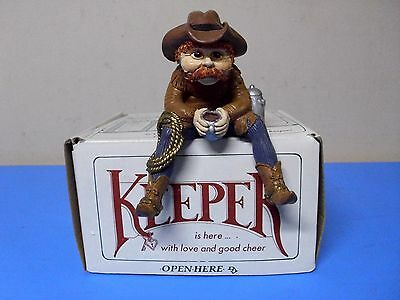 Shenandoah The Keeper Of Cowboys Figurine With Box