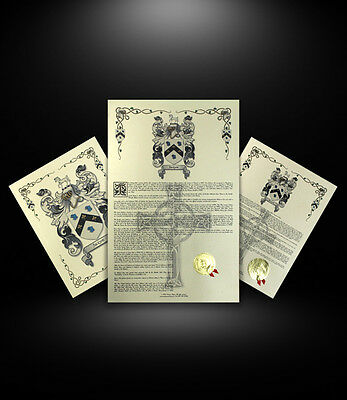 Find Your Name Here - Coat of Arms Combo Print - Japanese Origin