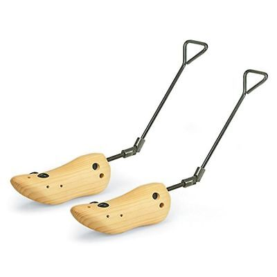 Boot Stretcher Men Wood Shaper Mens Western Cowboy Adjustable Bunions Corns Pair