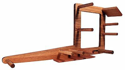 "Inkle Loom 30"" Tablet Weaving Card Weaving Loom - Handcrafted From Red Oak"