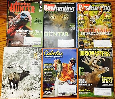 Various Hunting Magazines dated from 2014 - 2016