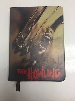 The Howling Notebook Diary Scary Horror The Nocturnal Readers Box - Lined pages