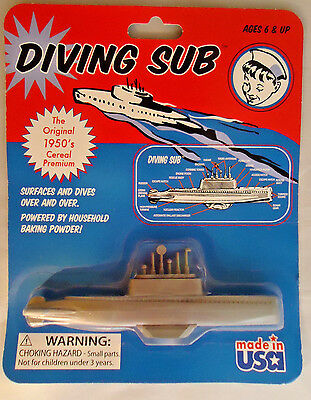 Toysmith Diving Sub Powered By Baking Powder - New