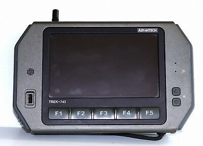 "Advantech TREK-743 Vehicle Computer 7"" LCD WLAN PC"