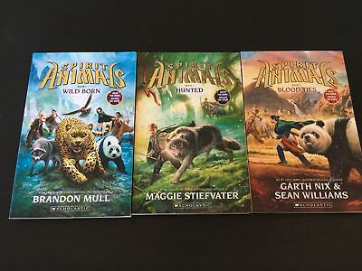 Spirit Animals - Wild Born/Hunted/Blood Ties (Books 1, 2 and 3) - Exc Condition