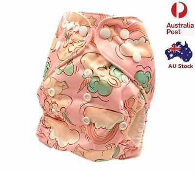 Unisex Modern Cloth Nappies Baby Cloth Pocket Nappy Cloth Diaper Pilchers (D191)