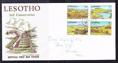 Lesotho 1971 Soil Conservation First Day Cover Addressed