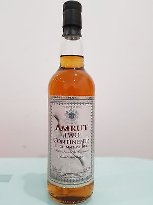 Amrut Two Continents Single Malt Whisky 700 ml @ 46 % abv