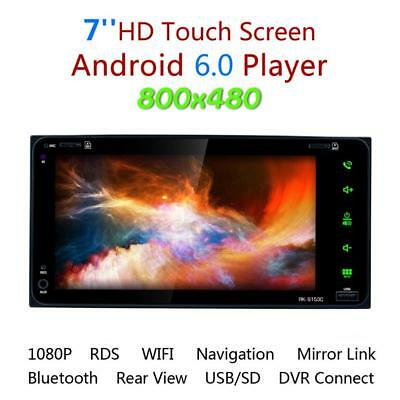 7'' Android 6.0 Bluetooth TouchScreen Nav Car GPS Stereo Radio Player for Toyota