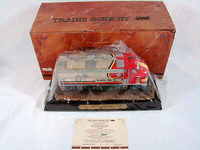 Trains Gone By Santa Fe Railway Super Chief Collectible Replica Limited Ed.