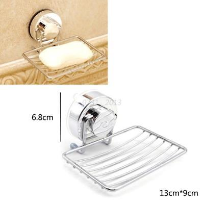 1pcs Bathroom Shower Soap Shampoo Holder Aluminum Bath Soap Dish Wall-Mounted