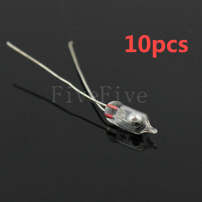 10pcs Glass 3mm Mercury Switch Angle Tilt Switch new