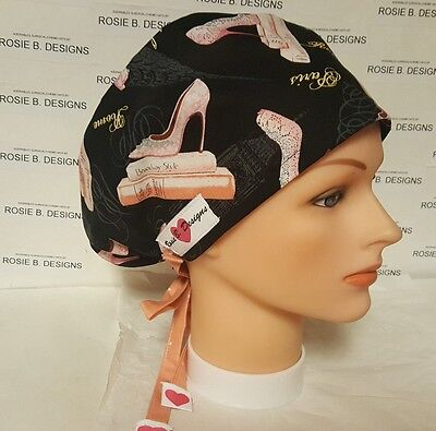 Broadway  Style / Hat Pixie / Scrub / Medical Chemo / Cap/ Nurses/or/drs.