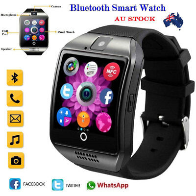 Bluetooth Touch Screen Smart Watch Q18 Waterproof Watch For Android iPhone IOS d
