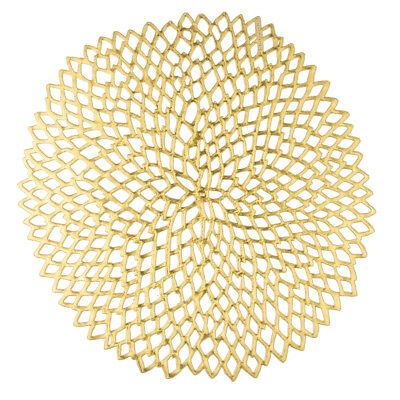 NEW Chilewich Dahlia Gold Placemat