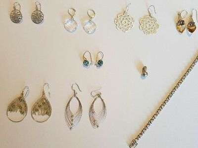 Used silver jewellery