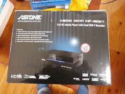 Astone Media Gear MP-310DT Full HD 1080P. Twin tuner. HDMI. 1TB HDD.WiFi connect