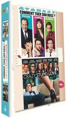 Comment tuer son boss ? + Crazy, stupid, love COFFRET DVD NEUF SOUS BLISTER