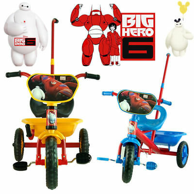 Disney Big Hero 6 Baymax Tricycle 3 Wheel Bike Trike Car Kid Toddler Ride On Toy