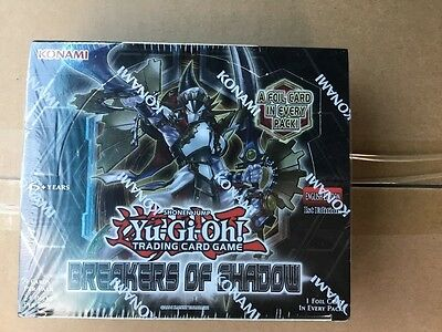 Yugioh Breakers of Shadow sealed Booster Box