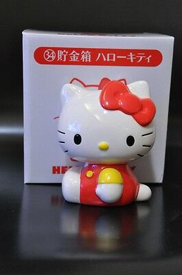 Sanrio Hello Kitty Coin Bank Ceramic Brand New in Box year 2012 discontinued