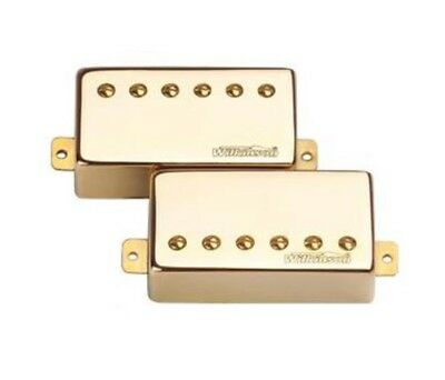 Wilkinson Humbuckers Set (Gold) plus surrounds and screws