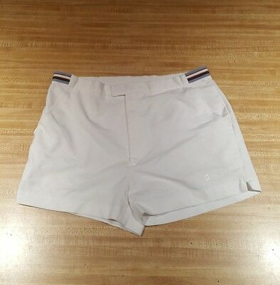 Converse Vintage Shorts Sz 36 80s Tennis Casual Clip Fastened D1