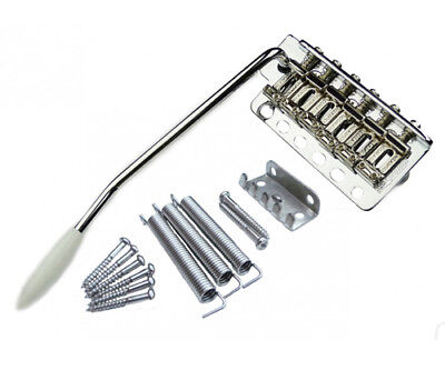 Guitar Tremolo - Strat - Wilkinson Steel Block - Chrome