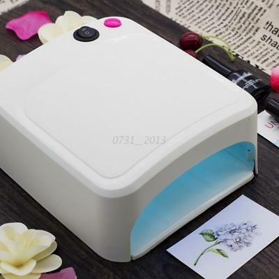 36W Pro Art Nail Dryer Spa Gel Curing Polish UV Lamp Light Acrylic Manicure New