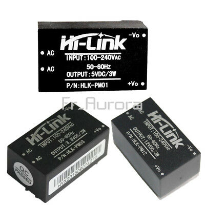 HLK-PM01 HLK-PM03 HLK-PM12 220V to 5V/3.3V/12V Step Down Power Supply Module