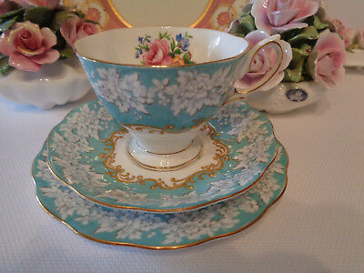 Royal Albert Trio - ***Enchantment Pattern***  1st.Quality, Made In England.