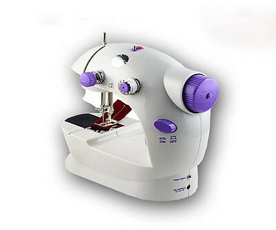 Electric Portable Mini Desktop Sewing Machine Hand Held Household Sartorially