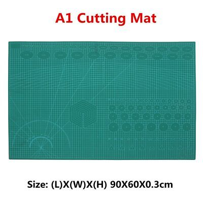 Professional Double Sided A1 Cutting Mat Non Slip Self Healing Mat Board Tool