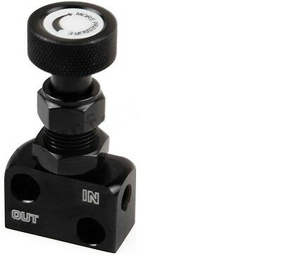 MCR Brake bias proportion valve hydraulic - SCREW TYPE ADJUSTMENT BLACK